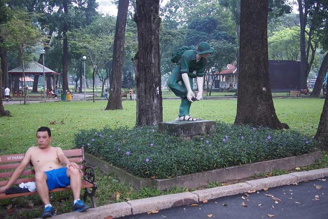 park, Ho Chi Minh City (Saigon), Vietnam