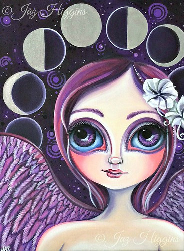 Moon Phase Angel