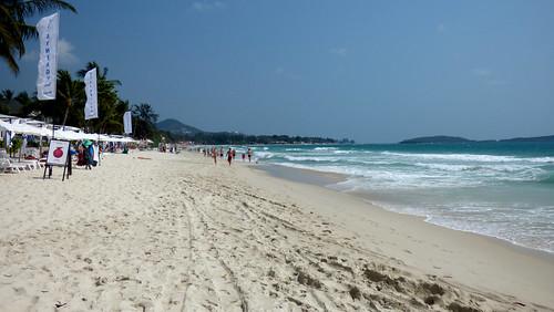 今日のサムイ島 2月14日 チャウエンビーチ