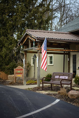 Hayes Arboretum Nature Center Entrance