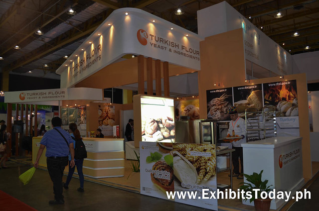 Turkish Flour Trade Show Display