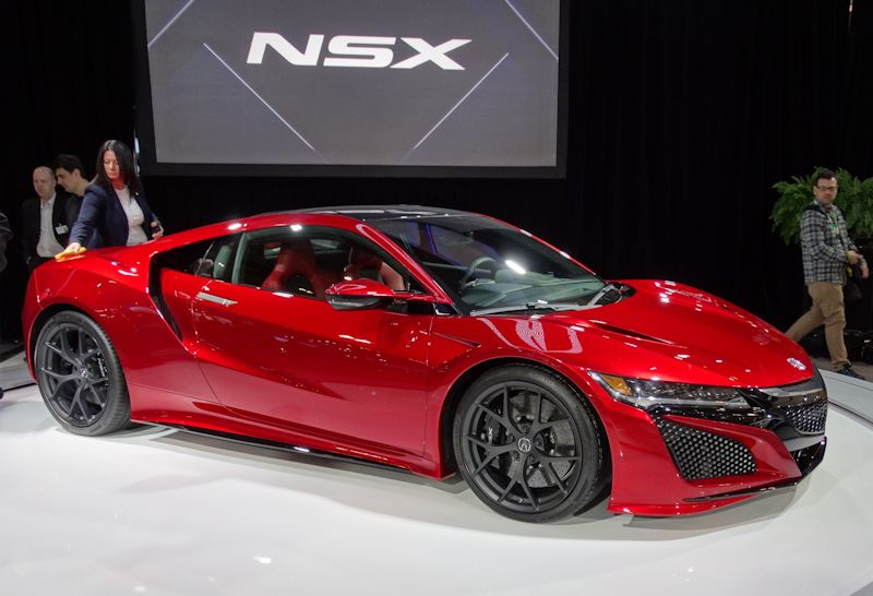 Acura NSX Production Car at 2015 CIAS