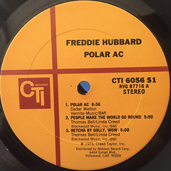 FREDDIE HUBBARD:POLAR AC(LABEL SIDE-A)