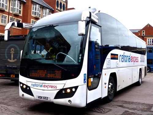 HSK 652 'National Express' Volvo B9R / Plaxton Elite. on Dennis Basford's 'railsroadsrunways.blogspot.co.uk