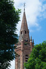 Clocher vert - green bell tower
