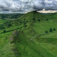 177/366 Chrome Hill from Parkhouse Hill, Peak District.