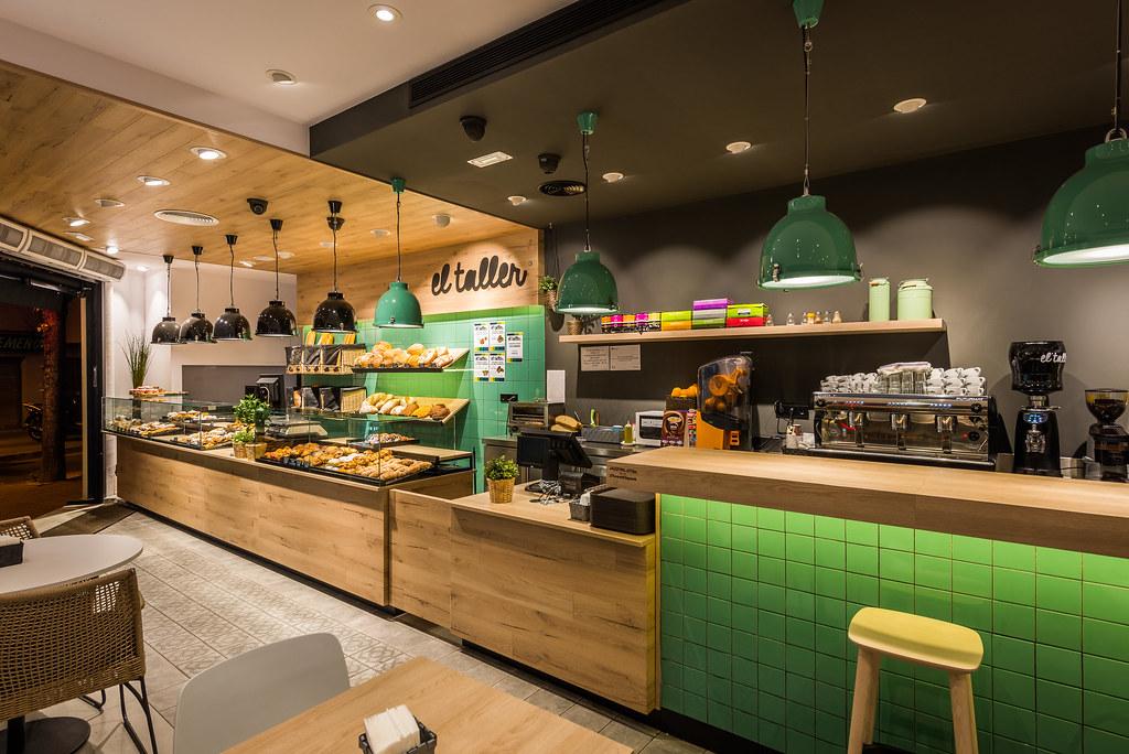 Reforma cafeter a panader a el taller locales comerciales - Aplicacion para decoracion de interiores ...
