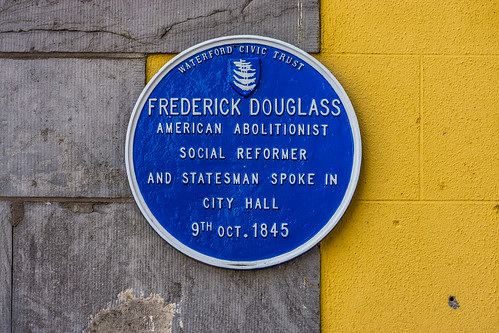 Frederick Douglass Waterford photo