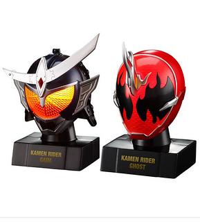 『面具的世界』發光台座頭像系列 《假面騎士鎧武》/《假面騎士Ghost》兩部篇章 閃亮登場!