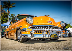 1954 Chevrolet Bel Air - Kustom Oldies Car Show - Whittier - 2016
