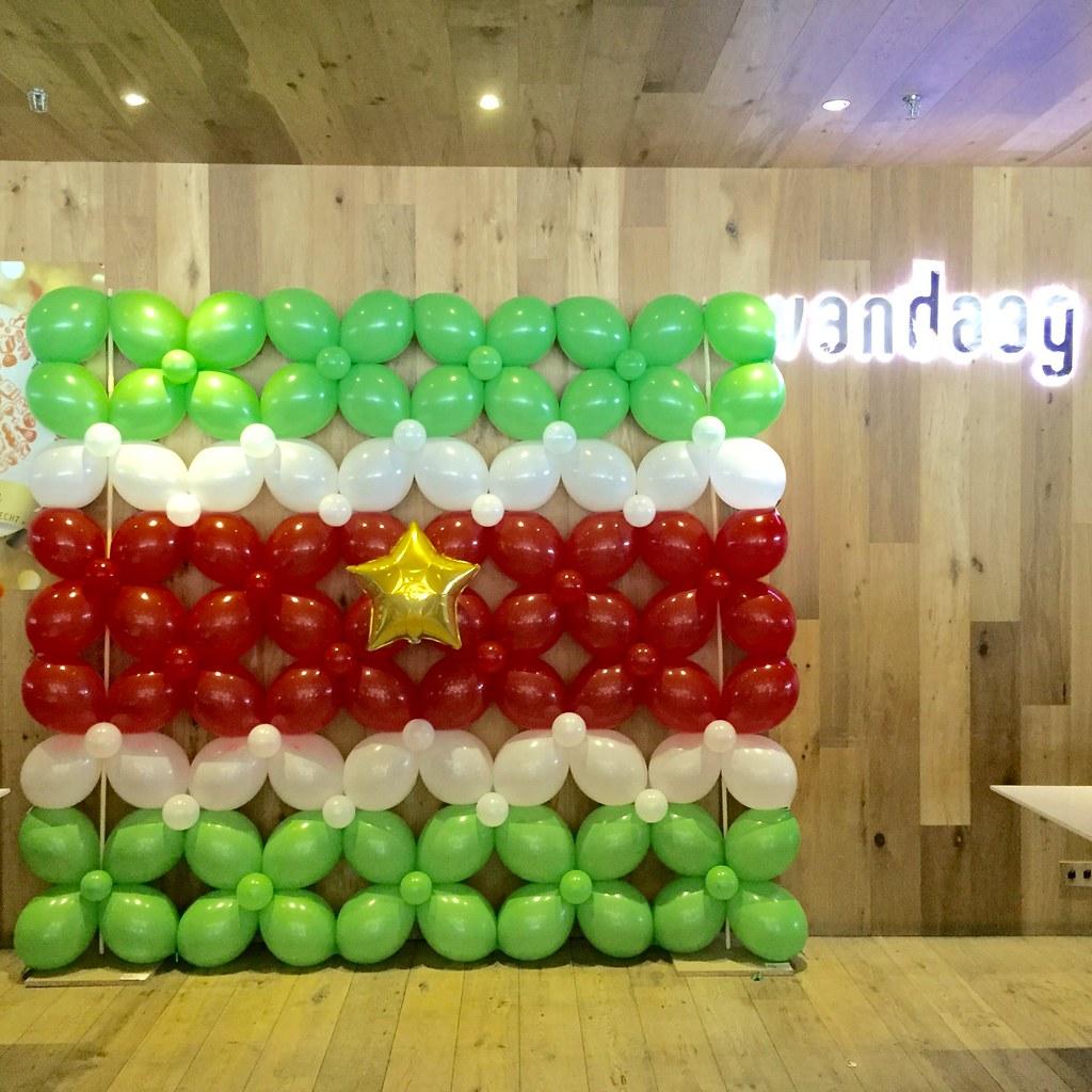 Ballonnenwanden  24/7 bezorgd door heel NL
