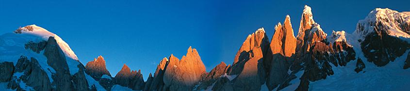 """Circo de los Altares"" am Cerro Torre. Foto: Sigi Hupfauer."
