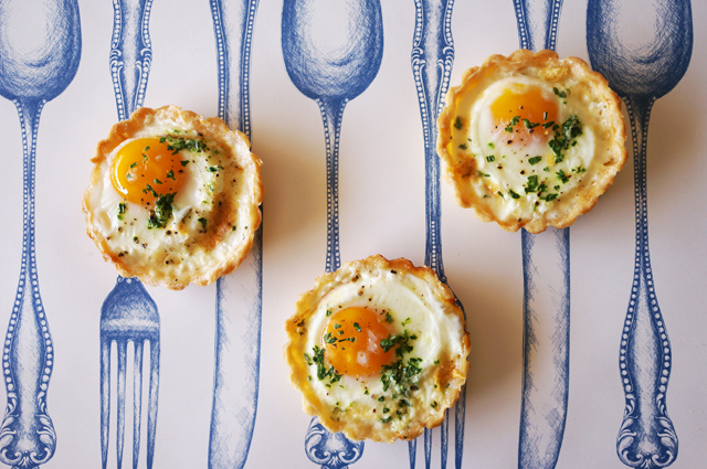 baked egg tartlet by HonestlyYUM