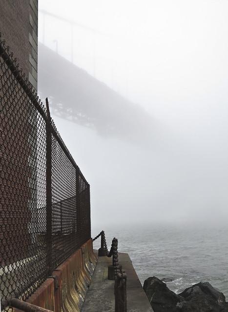 Golden Gate from Fort Point