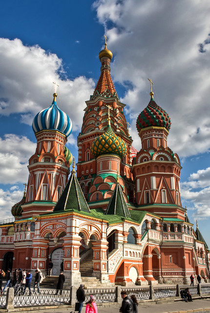 0347 - Russia, Moscow, St. Basil's Cathedral HDR