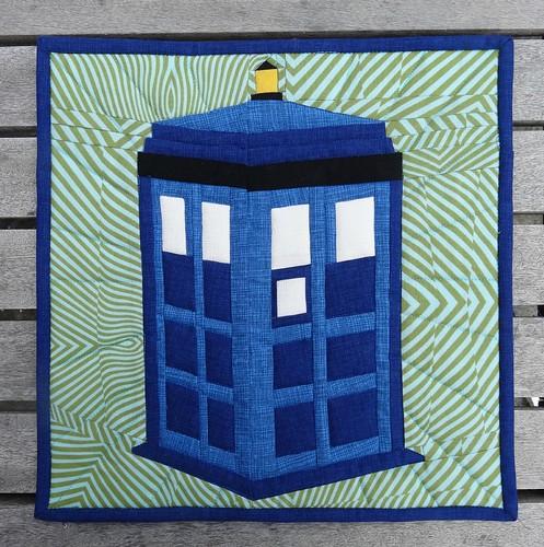 Elven Garden Quilts Calling The Doctor