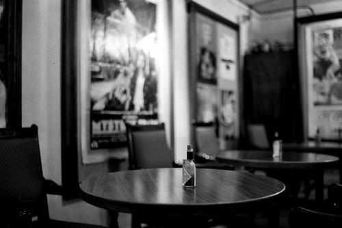 在咖啡店中