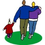 family walking holding hands (Custom)