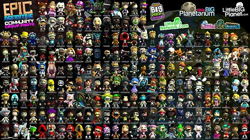 LBP: Epic Definitive Community Group Photo