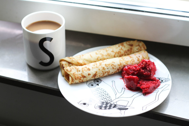 lördagsfrukost.