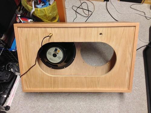 New guitar stuff –> DIY 2×12 cabinet   bonnie & jason