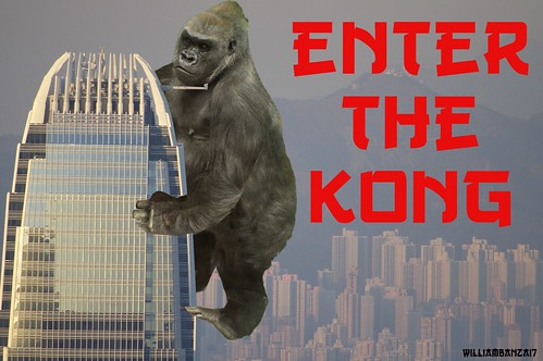 ENTER THE KONG by WilliamBanzai7/Colonel Flick