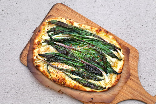 ramp flatbread & fresh dungeness