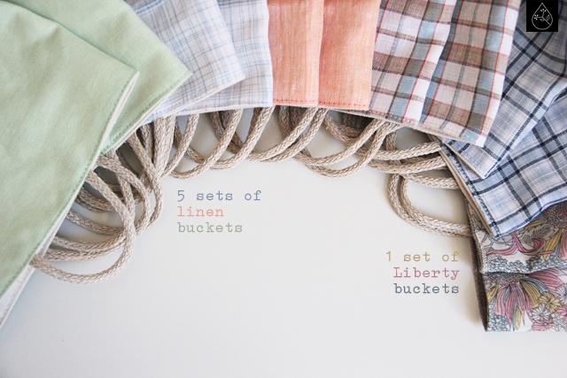 linen buckets