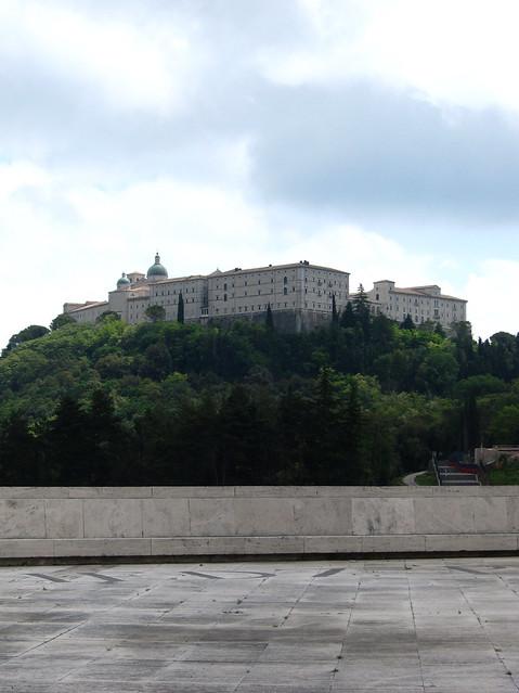 Abbazia Montecassino (dal cimitero polacco)