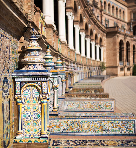 Sevilla ( Plaza de españa )