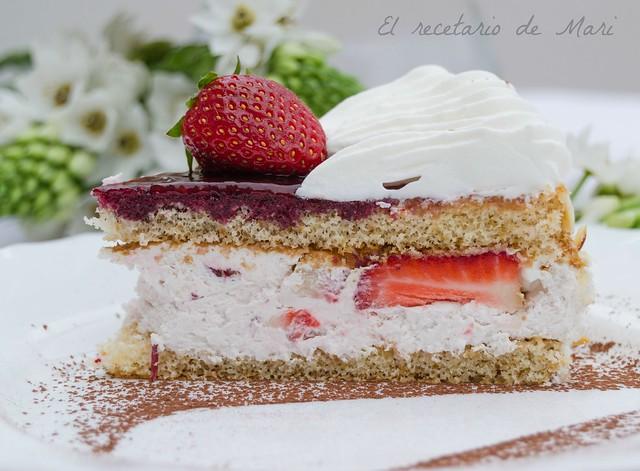 tarta de nata con fresas (3)