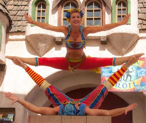 Barely Balanced at the 2012 Arizona Renaissance Festival