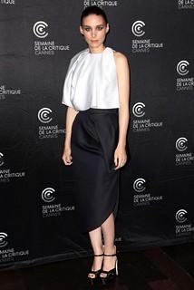 Rooney Mara Monochrome Trend Celebrity Style Womens Fashion