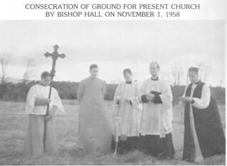 Consecration Nov. 1, 1958