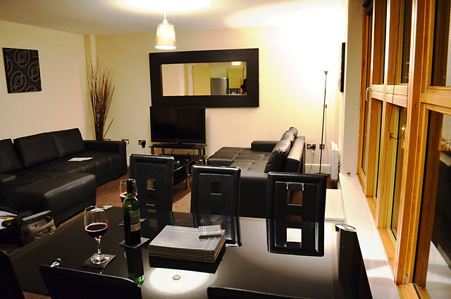 Living Area, City Warehouse Apartment Hotel, Manchester