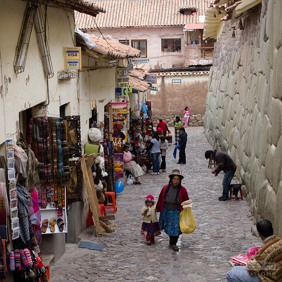 Lots of character to be found throughout Cuzco.
