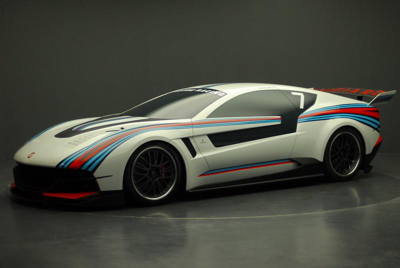 Giugiaro Brivido race car concept