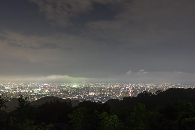 将軍塚 夜景