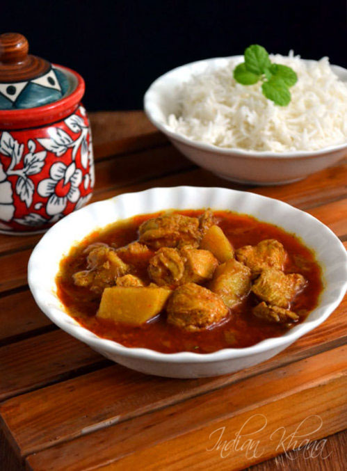 Chicken Potato Curry