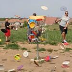 Dats a lotta frisbees