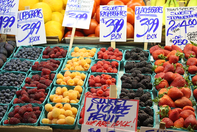 Fruit at Pike Place