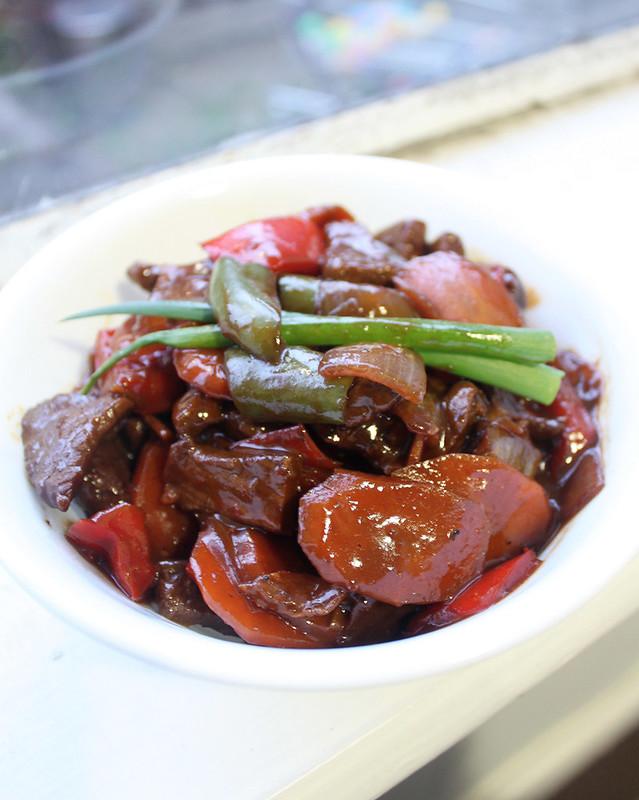 how to make black pepper sauce witg massei stock powder
