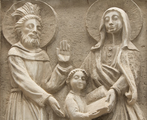 Our Lady with her Parents