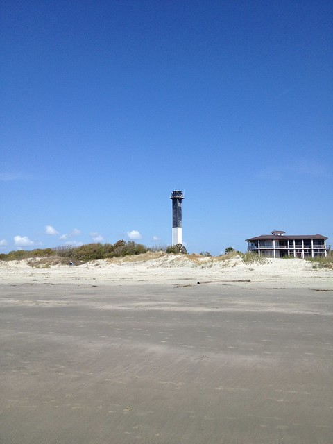 Lighthouse at Sullivan's Island, South Carolina