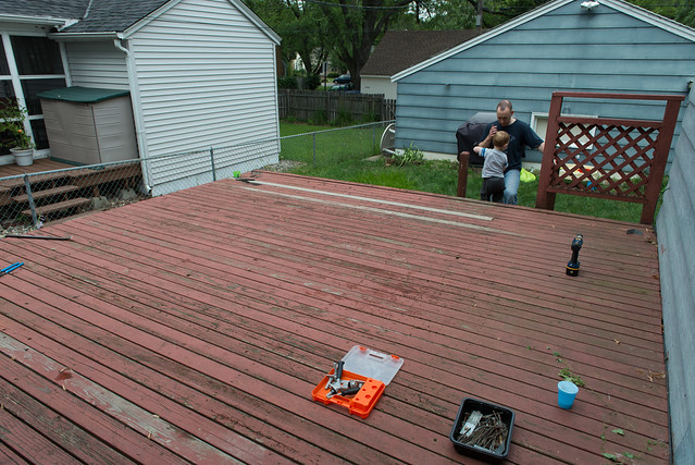 deck tear down-1