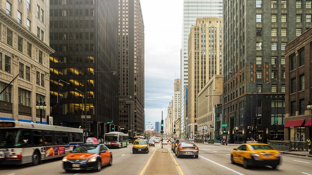Michigan Ave - Chicago [Explored]