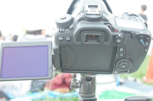 Canon EOS 70D for fireworks shooting