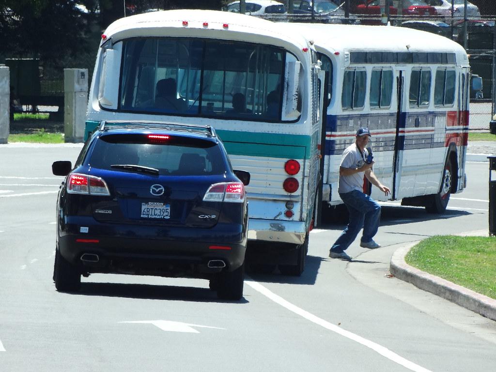 981664c3bce *SAN FRANCISCO MUNI 3210 AC TRANSIT 942 Ron getting out of the bus. 2013