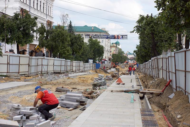 ул.Московская перед юбилеем