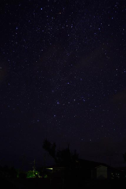 Photo:Cassiopeia & Shooting Star カシオペア座と流れ星 By Nyon-Nyon